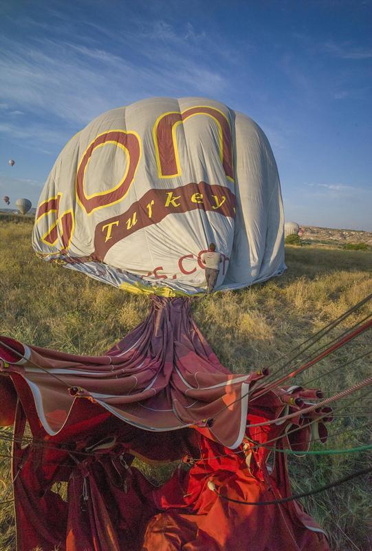 摄影师土耳其体验热气球观光拍美景【6】