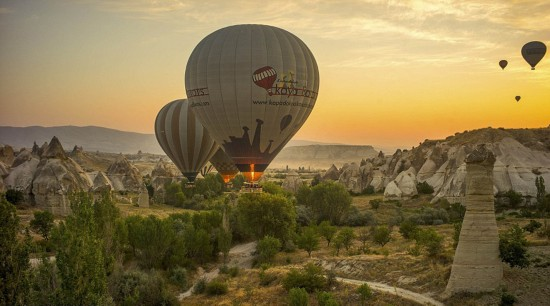 摄影师土耳其体验热气球观光拍美景【12】