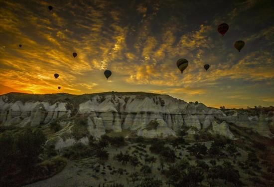 摄影师土耳其体验热气球观光拍美景【10】