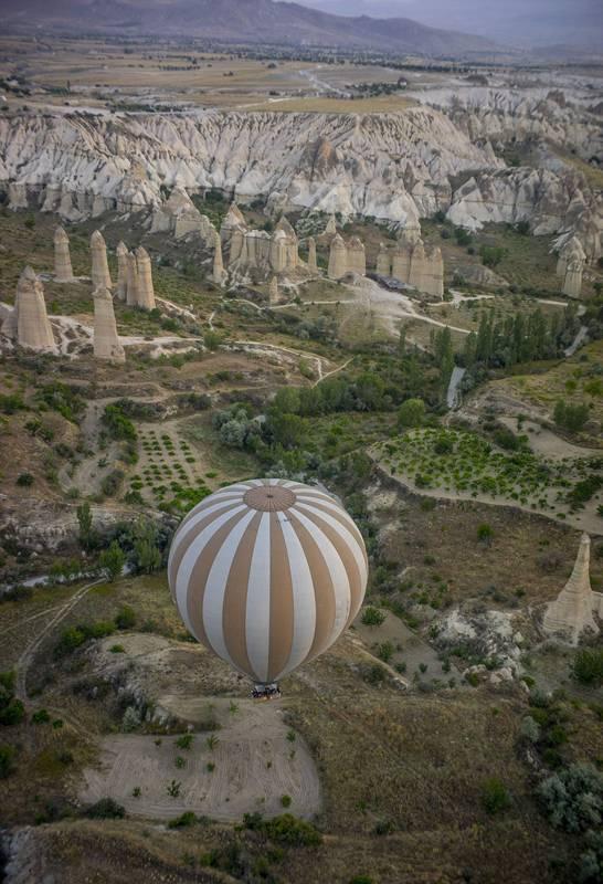 摄影师土耳其体验热气球观光拍美景【3】