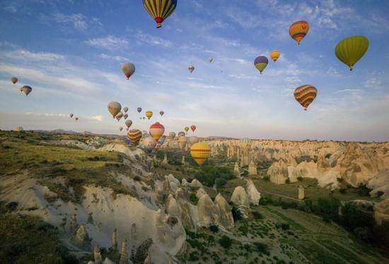 摄影师土耳其体验热气球观光拍美景【2】