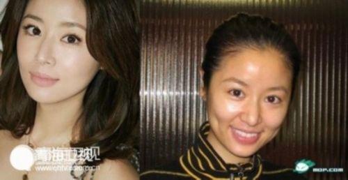 张靓颖获男友求婚含泪答应 图揭30位 女神 卸妆后惨不忍睹图片