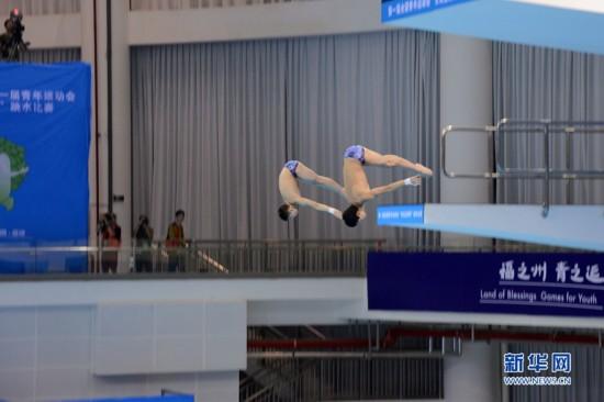 首届全国青运会跳水比赛赛程近半 广州队已夺4金