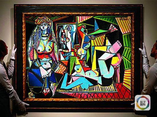 毕加索的名作《阿尔及尔的女人(O版)》