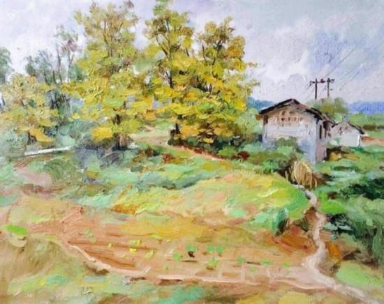 业内人士都认为近些年陈小平的色彩越画越好,越来越熟练地表现色光,充分发挥了油画独特魅力,他尊重自然,表达自己对景物的真实而朴素视觉感受,他话语不多,与世无争,但我们能感觉到在他平静斯文的外表里面隐藏着他对绘画艺术持久的执着与热忱。他每次作画也是这样,他心静,不紧不慢,但你却又能在他的运笔之间看到包含着感动和激情。吴冠中说他的画的标准是要群众鼓掌专家点头,小平的画内行看是很有功力的,外行看是很美的。他的画已经得到了广泛的社会认可。   陈小平是一位谦和而安静的人,他常常说坚持自己所爱我的专业之路还