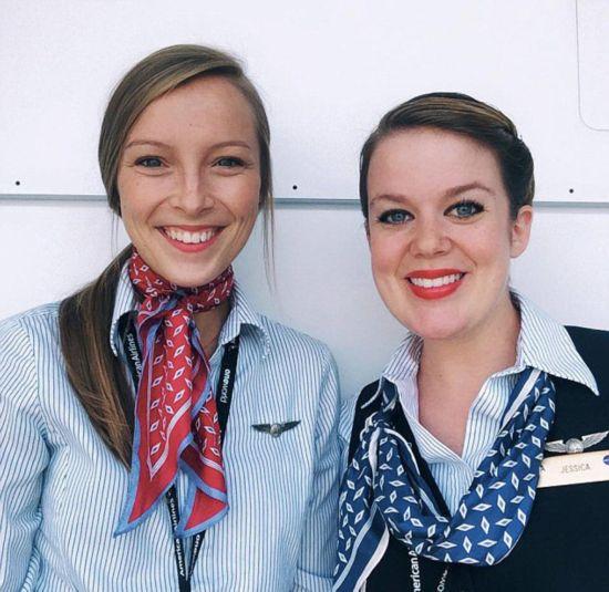 美22岁空姐坚持为乘客留暖心便条逾1年