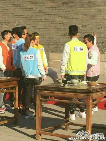 《跑男3》西安站路透:郑恺露魔性笑容 鹿晗遭围堵