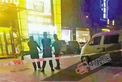 重庆一KTV外被曝有人朝天开枪警方:自制枪弹