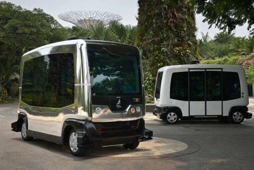 未来交通愿景方案,计划推出无人驾驶公交汽车及货车车队,加强