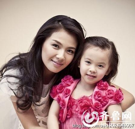刘涛和女儿