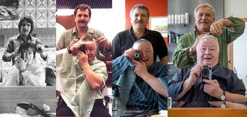 光阴似箭鬓毛衰:男子连续42年找同一理发师理发