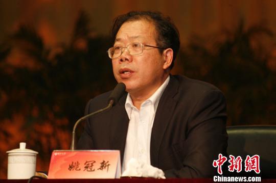 盐城工学院党委书记姚冠新履新出任扬州大学党