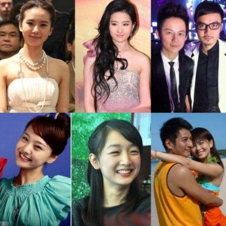 刘诗诗刘亦菲林允儿 娱乐圈同龄明星美颜PK