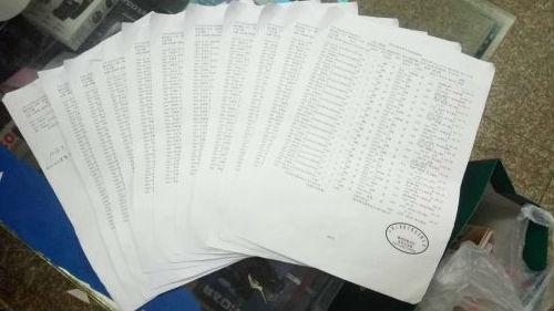游戏照片 (花费掉的银行账单,郑先生足足打印了11页