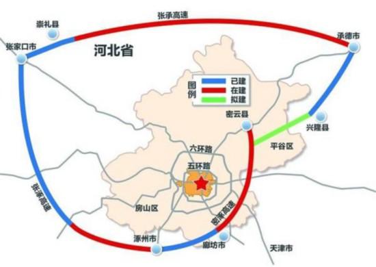 北京大外环河北段明年将建成 助推京津冀一体化