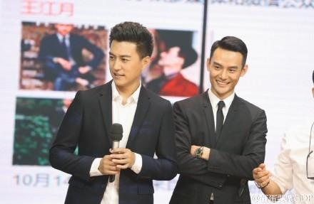 靳东王凯录制《天天向上》动作表情神同步