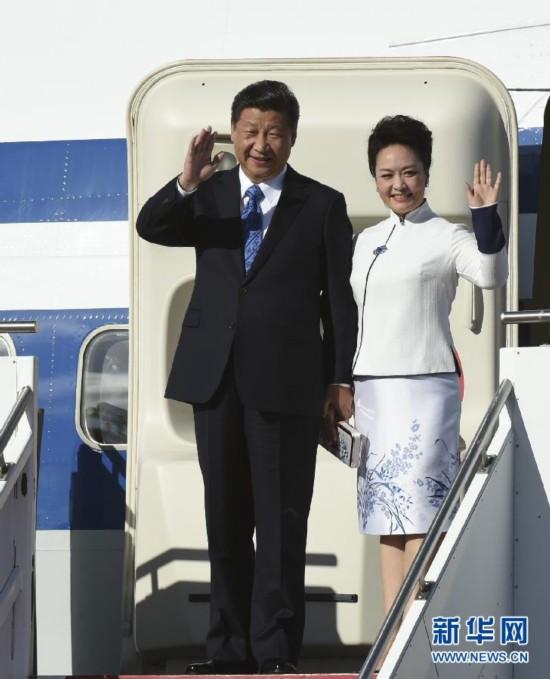 日本首相访问俄罗斯_习近平主席访英 盘点习近平彭丽媛外交情侣装--宁夏频道--人民网