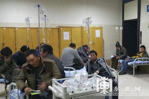 哈尔滨一工地发生集体中毒事件至少39人被送医