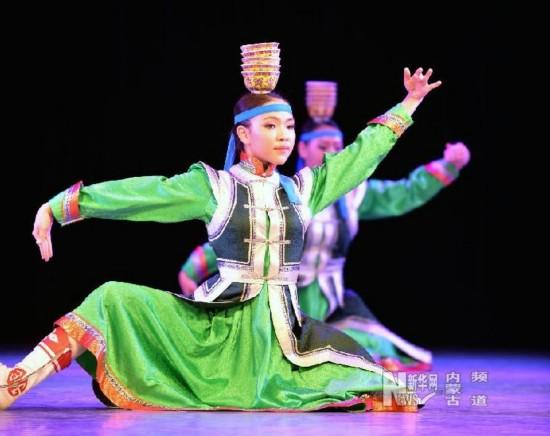 中蒙高校交流蒙古族舞蹈技艺