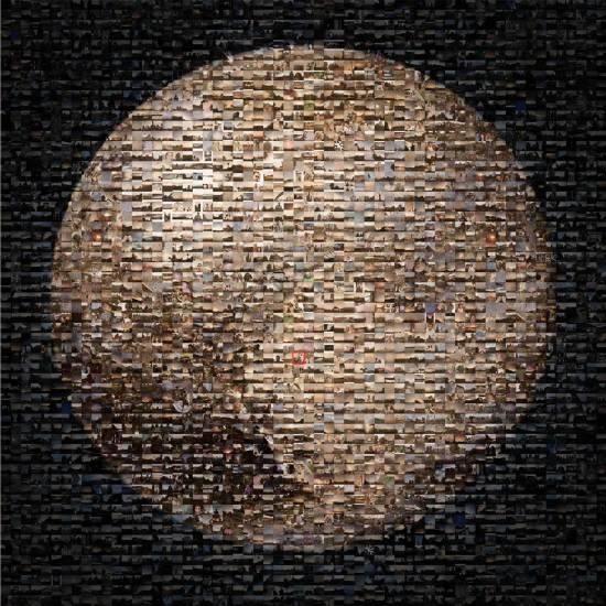 NASA发布巨幅冥王星照片 由网友照片拼合而成