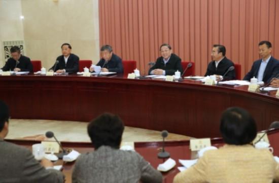 俞正声主持召开全国政协双周协商座谈会