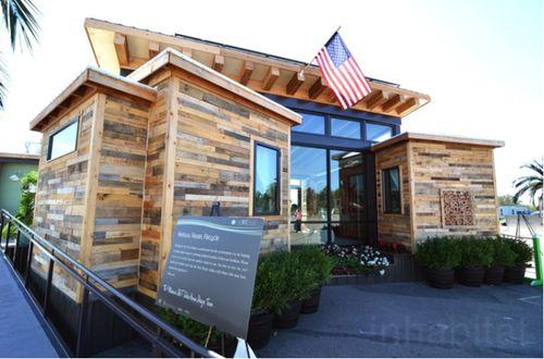 """这些太阳能绿色房屋可实现""""零""""能源使用"""
