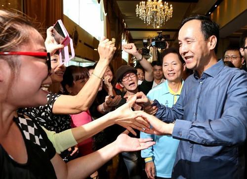 民进党说不清两岸政策朱立伦:绝不能让其重新执政