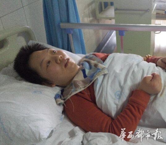 女子车祸住院智力如3岁小孩 医生急寻家属