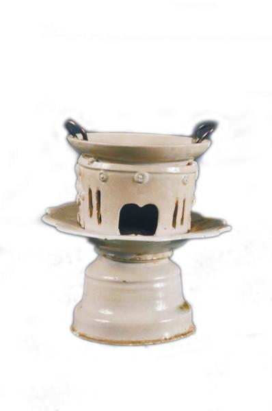 唐代白釉茶具