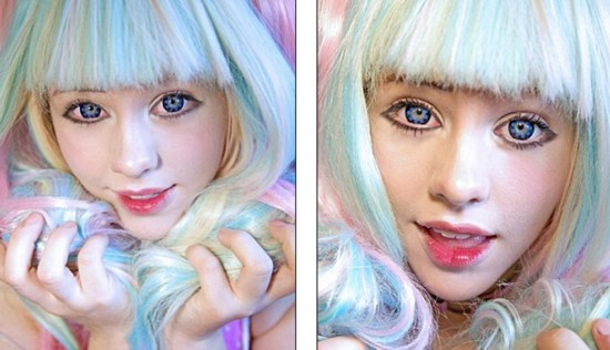 澳女孩痴迷日本动漫 日常装扮酷似漫画萝莉