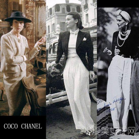 做Coco Chanel一样的女人 众女神变身中性风