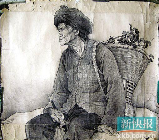 广州美院学生优秀素描作品。受访者提供2