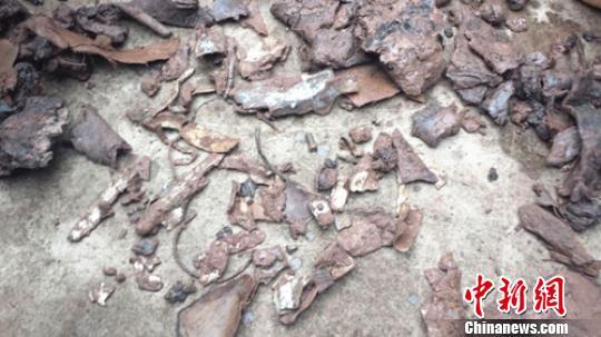 四川高县疑似美军坠毁飞机残骸有待专家进一步鉴定