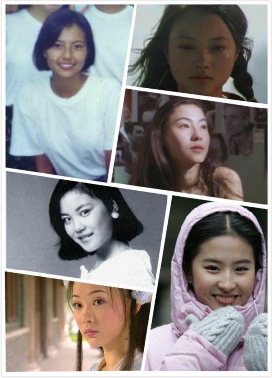 女星17岁出道旧照:张柏芝颜值秒杀王菲 李小璐挂婴儿肥