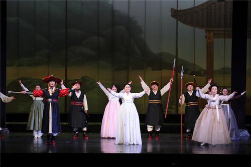 第四届中国少数民族戏剧会演闭幕式在京举行