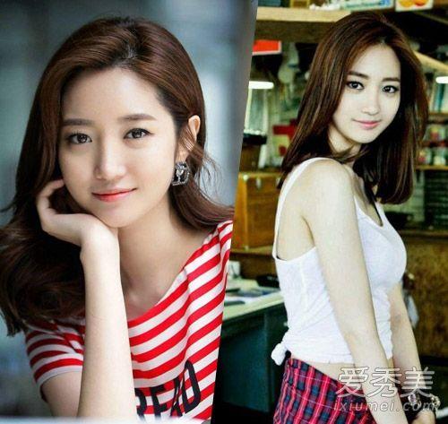 中韩女星剪短发谁更惊艳         或许很多人都不记得高俊熙长发时候图片