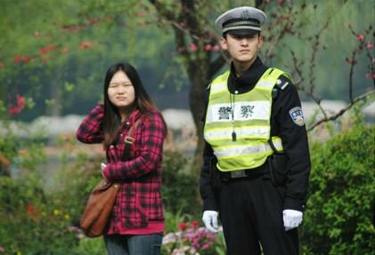 杭州最帅交警