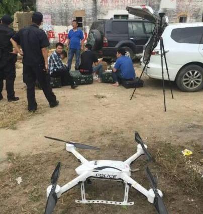 嫌犯指认现场时带手铐脚镣逃脱 深圳警方悬赏20万