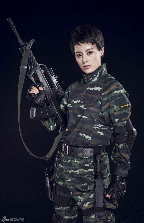 《反恐特战队》魔鬼女教官王力可帅气(组图)