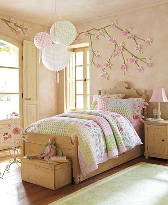 Little Girls Bedroom Colors New York Bedroom Curtains Small Bedroom Chairs For Adults Home Decor Bedroom: Ű�女最爱森系小窝 8款个性暖心设计--家居--人民网