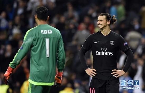 欧冠:皇家马德里1-0胜巴黎圣日耳曼