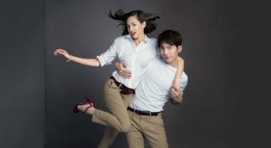 """Let's Gap Together""系列广告大片_井柏然&Kiko"