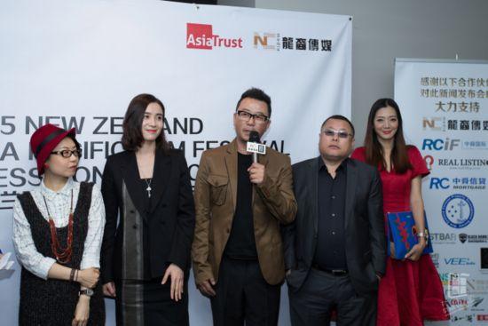 村木田刘妍希惊艳亮相新西兰亚太电影节