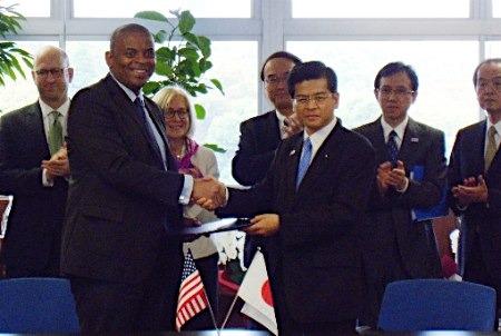 日美同意设立铁道合作会议机制。