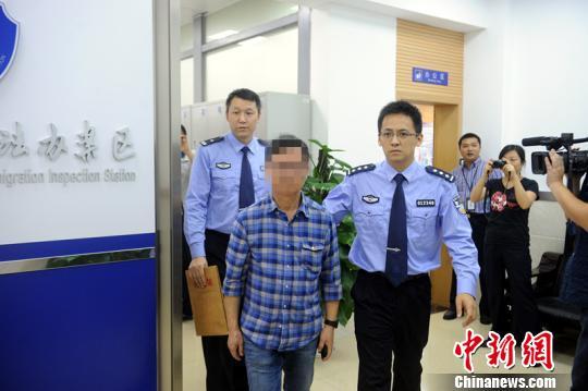 """广东警方再猎一国际红通对象目前共""""猎狐""""91名"""
