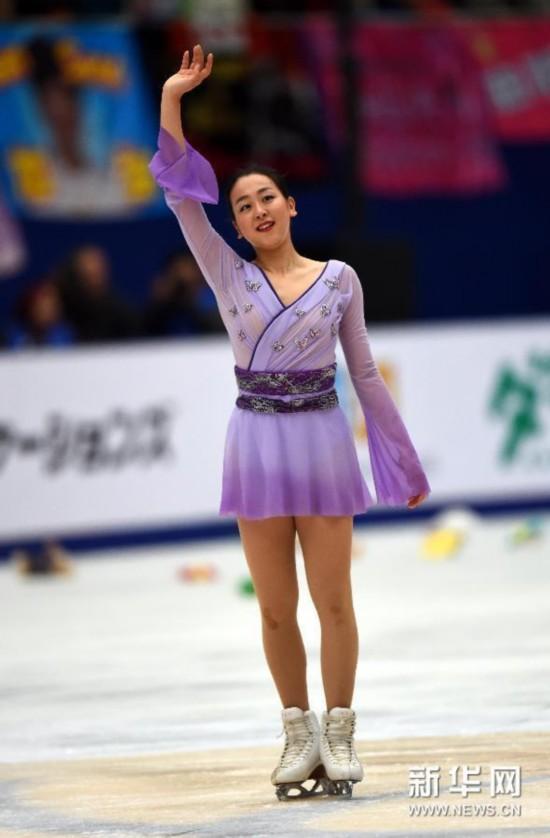 (体育)(2)花样滑冰——中国杯:浅田真央单人滑夺冠
