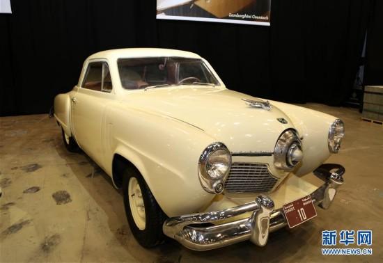 (国际)(2)迪拜车展上的经典老爷车
