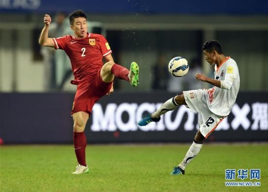 (体育)(6)足球――世预赛:中国迎战不丹