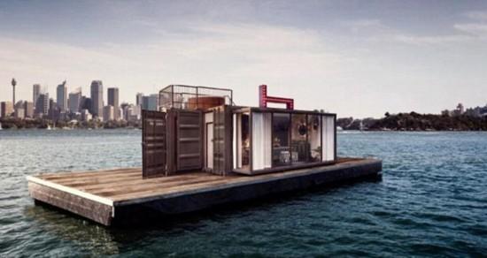 澳大利亚建首家飘浮酒店:装饰奢华