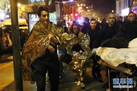 巴黎遭恐怖袭击